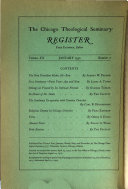 Chicago Theological Seminary Register