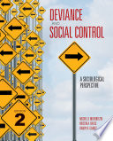 Deviance And Social Control Book