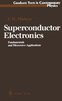Superconductor Electronics Pdf/ePub eBook