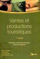 Ventes et productions touristiques