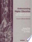 Understanding Higher Education
