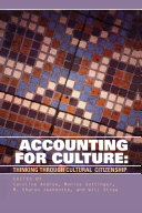 Pdf Accounting for Culture Telecharger
