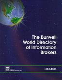 The Burwell World Directory of Information Brokers