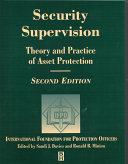 Security Supervision Book