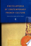 Encyclopedia of Contemporary French Culture