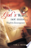 It s God s Word  Not Mine