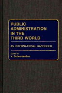 Public Administration in the Third World