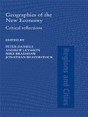 Geographies of the New Economy: Critical Reflections - Seite 17