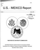 U S  Mexico Report