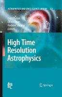 High Time Resolution Astrophysics Pdf/ePub eBook