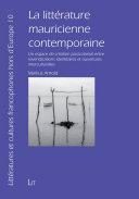 La littérature mauricienne contemporaine