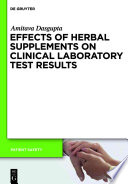 Effects of Herbal Supplements on Clinical Laboratory Test Results
