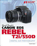 Pdf David Busch's Canon EOS Rebel T2i/550D Telecharger