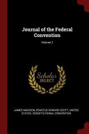 Journal of the Federal Convention
