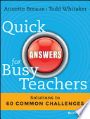 Quick Answers for Busy Teachers Book