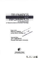 TELEMATICS AND INFORMATICS: AN INTERNATIONAL JOURNAL ON TELECOMMUNICATIONS & INFORMATION TECHNOLOGY