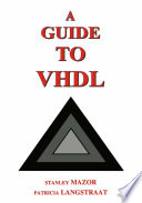 A Guide to VHDL Book