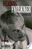 Reading Faulkner Pdf/ePub eBook