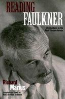 Pdf Reading Faulkner