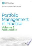 Portfolio Management in Practice  Volume 2