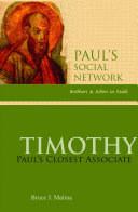 Timothy: Paul's Closest Associate