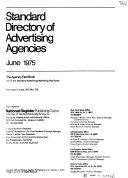 Standard Directory of Advertising Agencies