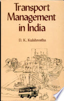 Transport Management in India Book