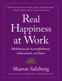Real Happiness at Work Pdf/ePub eBook