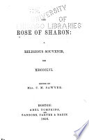 The Rose of Sharon Book