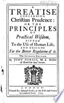 A Treatise concerning Christian Prudence ... The seventh edition