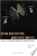 Beyond Nonstructural Quantitative Analysis