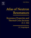 Atlas of Neutron Resonances