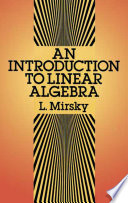 An Introduction to Linear Algebra