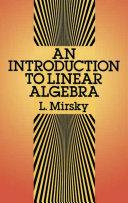 An Introduction to Linear Algebra [Pdf/ePub] eBook