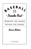 Baseball Inside Out Book PDF