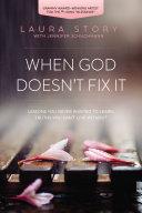 When God Doesn't Fix It Pdf/ePub eBook