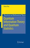 Quantum Information Theory and Quantum Statistics [Pdf/ePub] eBook