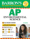 Barron's AP Environmental Science With Bonus Online Tests