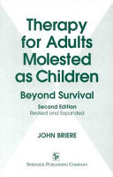 Therapy for Adults Molested as Children ebook