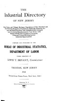 The Industrial Directory of New Jersey
