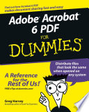 Adobe Acrobat 6 Pdf For Dummies PDF
