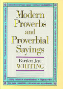 Pdf Modern Proverbs and Proverbial Sayings