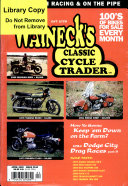 WALNECK'S CLASSIC CYCLE TRADER, APRIL 2000