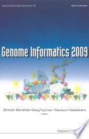 Genome Informatics 2009 Book PDF