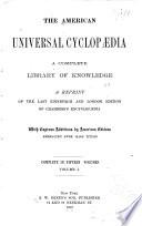 The American Universal Cyclopædia