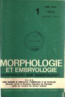 Morphologie Et Embryologie Book