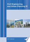 Read Online Civil Engineering and Urban Planning IV For Free