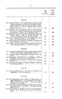 Abstracts of the Proceedings of the Chemical Society