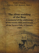 Pdf The silver wedding of the Bear
