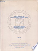 Proceedings of the National Energy Modeling System Conference